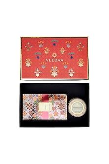 Multi Colored Himalayan Cedar & Patchouli Candle & Diffuser Set by VEEDAA
