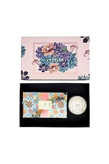 Multi Colored Midnight Jasmine Candle & Diffuser Set by VEEDAA
