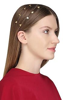 Gold Plated Hair Pin by Varnika Arora