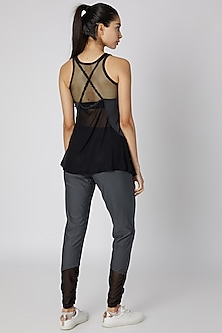 Black Slate Pia Tank Top by Mira Rae