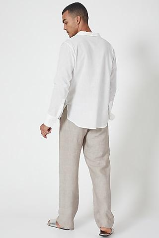 Multi Coloured Colour-Blocked Tunic Shirt by Wendell Rodricks Men