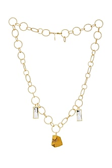 Gold Plated Dorado Necklace by Zariin-GIFTS FOR HER
