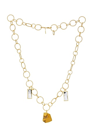 Gold Plated Dorado Necklace by Zariin