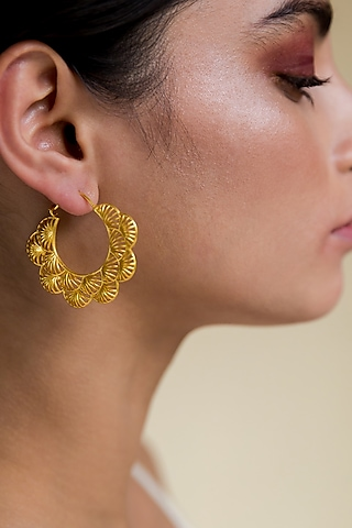 Gold Plated Jewellery (Set of 3) In Gift Box by Zariin