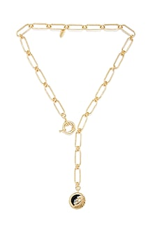 Gold Plated Leo Lion Necklace by Zariin