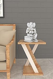Silver Plated Allure Ganesha Idol by Shaze