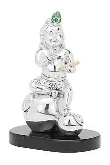 Silver Plated Krishna The Elfin by Shaze