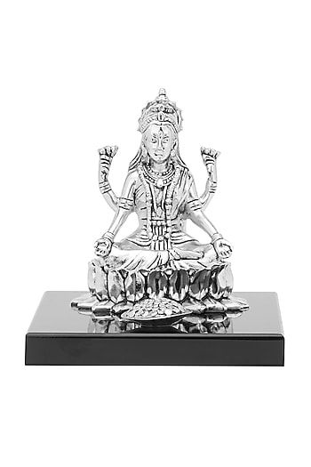 Silver Plated Laxmi Idol by Shaze
