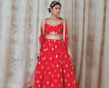 LEHENGAS UNDER ¤0-THE BEST ON A BUDGET