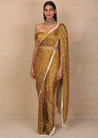 DRAPED SAREES-TOPPING THE TRENDS CHART